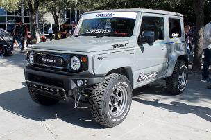 Doppelrohr-Auspuff für den Suzuki Jimny