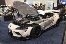 Toyota Supra A90: Tuning, GReddy