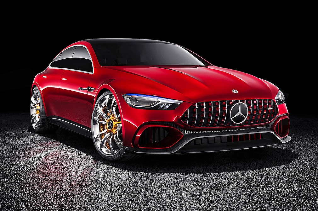 Mercedes-AMG GT Concept !!! BLOCKING PERIOD March 07, 2017 9:45 a.m. !!!