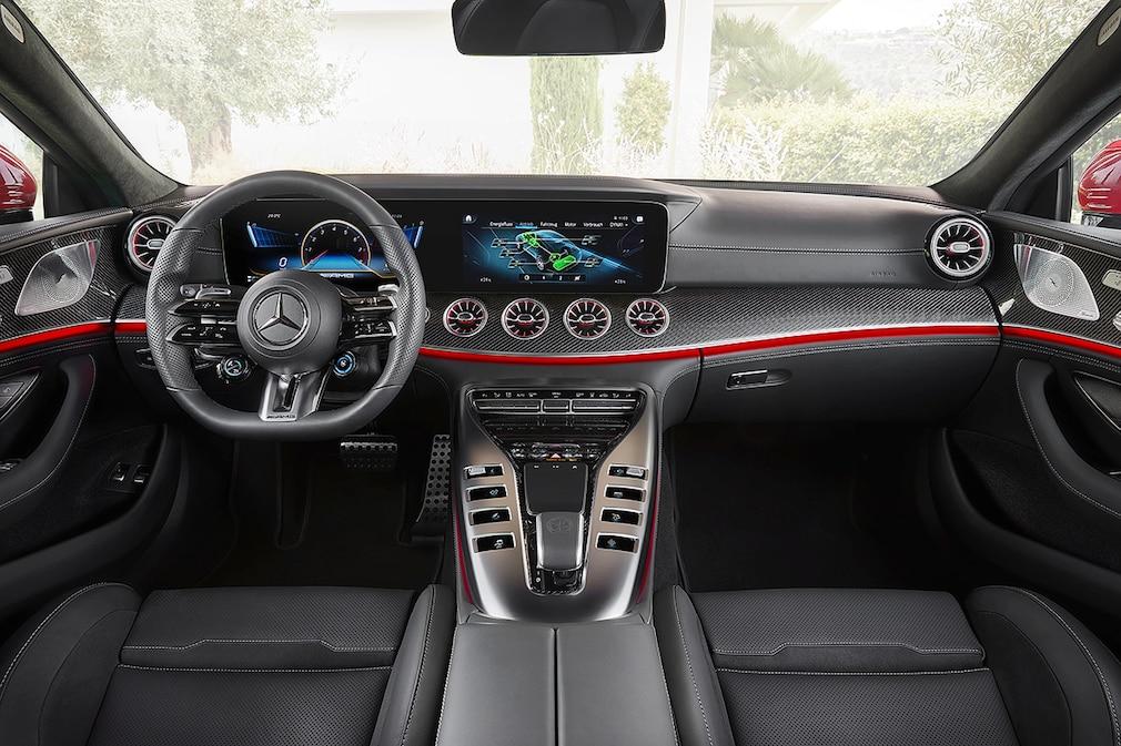 Mercedes-AMG GT 4-door hybrid PAD