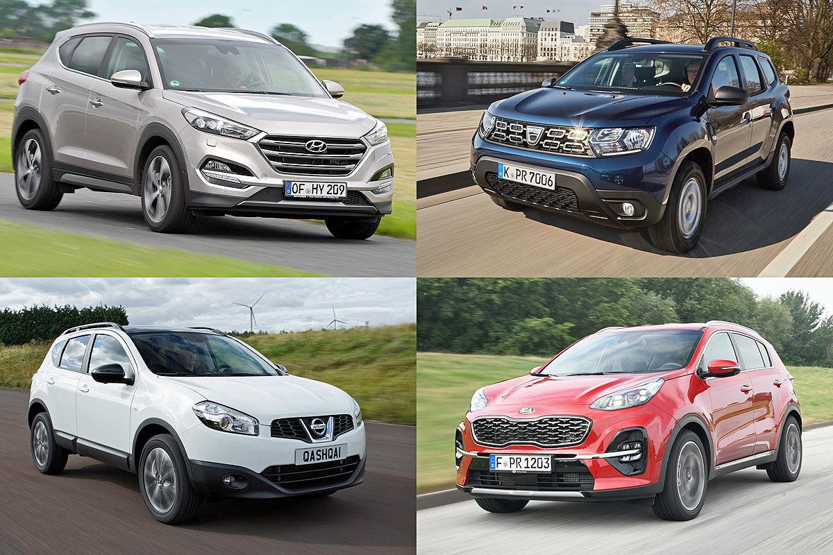 TÜV-Report 2020: SUVs im Mängel-Check