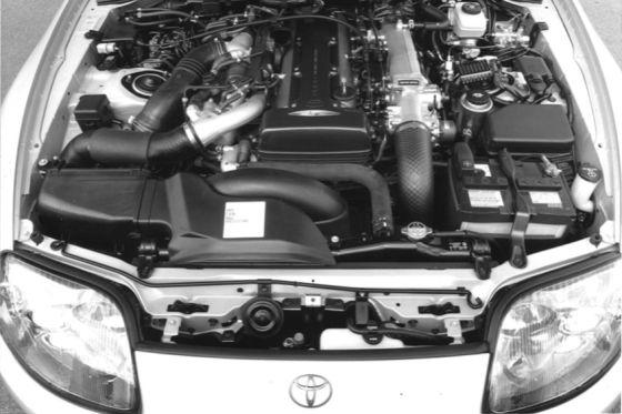 Der Motor aus dem Toyota Supra MK4