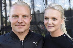 Bottas trennt sich von Ehefrau