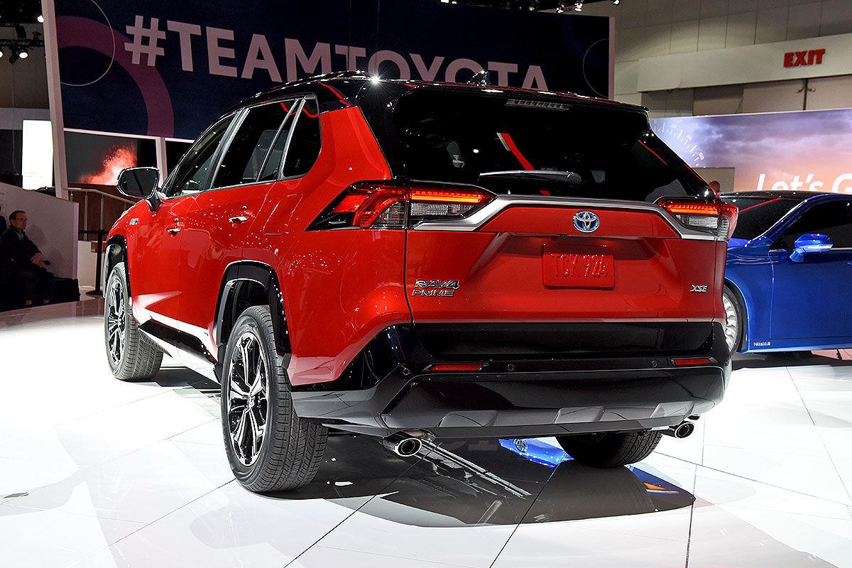 Toyota RAV4 Plug-in-Hybrid: Bilder