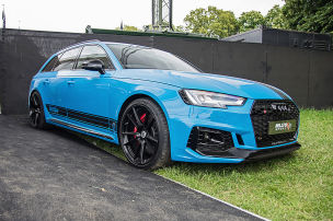 Audi RS 4 auf Wunsch ohne Kats