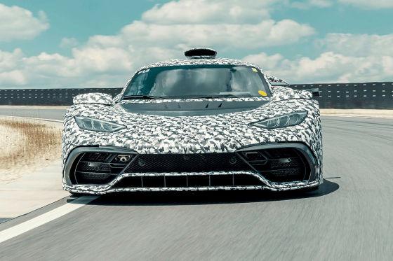 Der Mercedes-AMG One bekommt endlich die volle Leistung