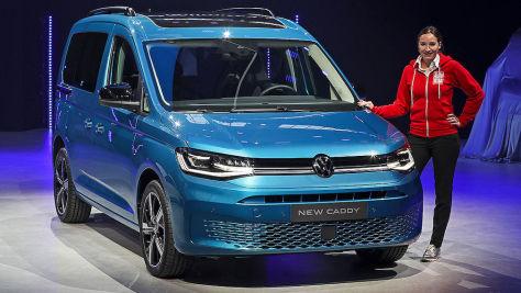 VW Caddy (2020): Sitzprobe