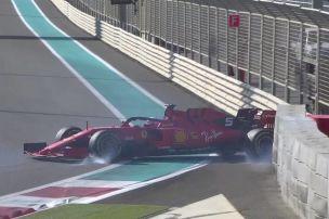 Vettel crasht, Bottas Schnellster