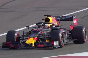 Verstappen hauchdünn vor Mercedes