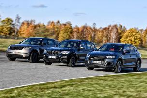 Drei Edel-SUVs mit Diesel-Power