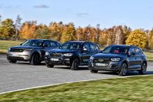 Audi SQ5, BMW X3, Range Rover Velar: Test