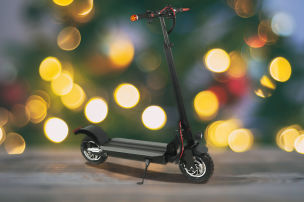E-Scooter als Weihnachtsgeschenk