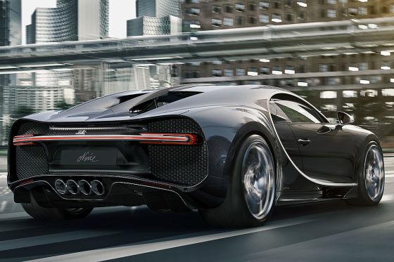 Bugatti sieht schwarz