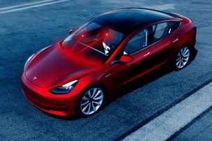 Tesla lässt Laser-Scheibenwischer patentieren