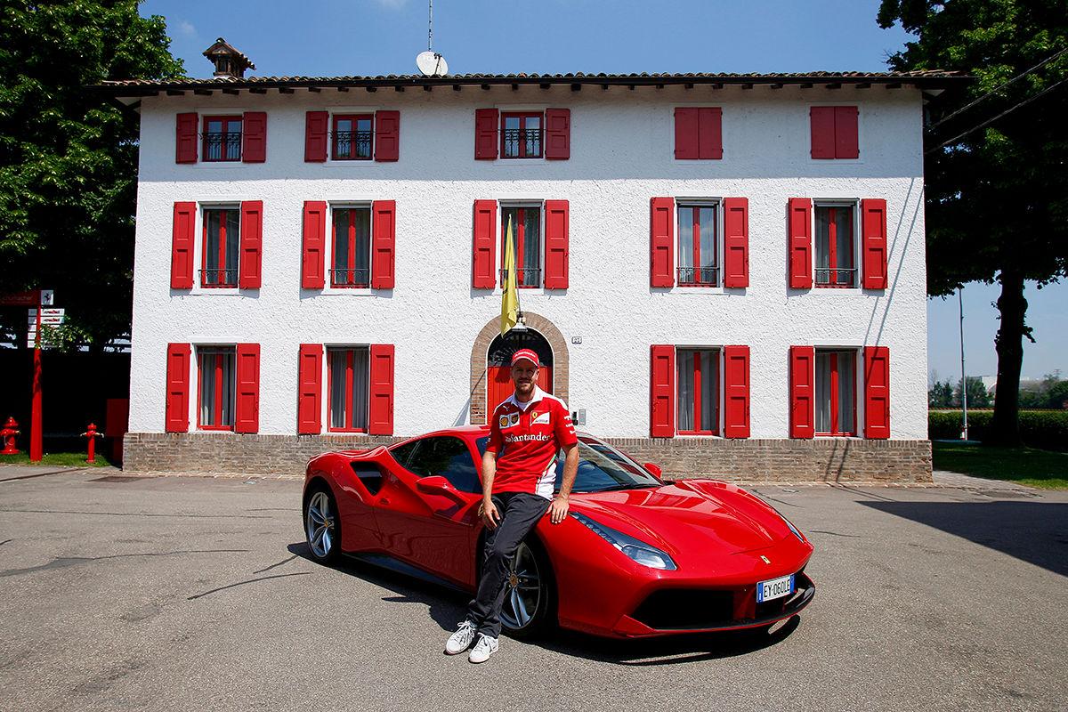 Sebastian Vettel Privat
