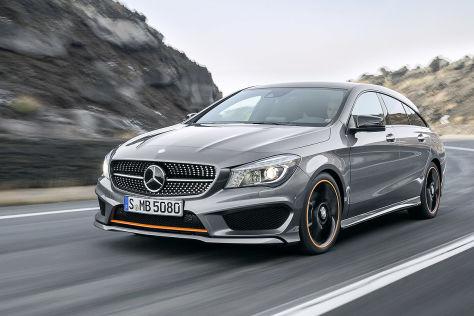 Mercedes CLA 200 Shooting Brake: Leasing mit Gutscheincode