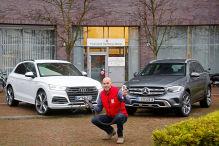 Audi Q5, Mercedes GLC: Hybrid-SUVs im Test