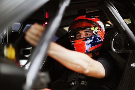 DTM-Test im BMW