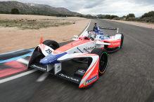 Formel E: Tracktest