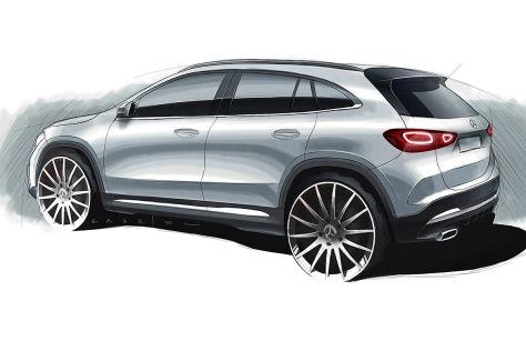 Mercedes GLA (2020): Teaser, Premiere, Marktstart, Bilder