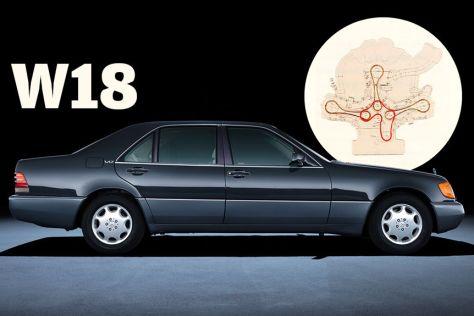 Mercedes 800 SEL mit 8,0-Liter-W18
