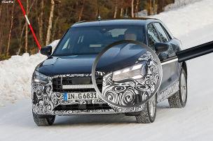Neue Front f�r Audis kleinstes SUV