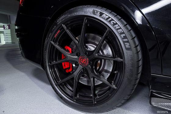 Carbon-Felgen für den Mercedes-AMG C 63 S!