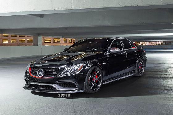 Carbon-Felgen für den Mercedes-AMG C63 S!