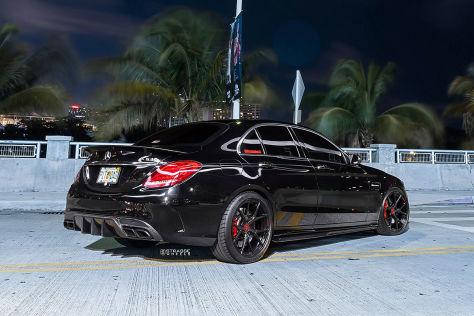 Mercedes-AMG C63 S (2018): Carbon Felgen