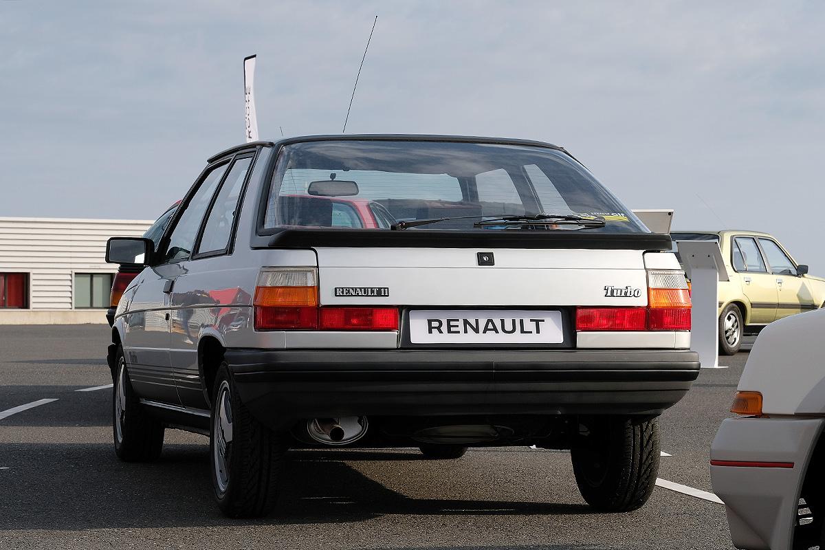 40 Jahre Renault Turbo - Renault 11 Turbo