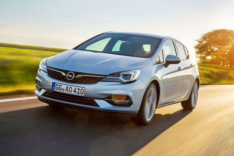 Opel Astra 1.2: Leasing, Preis, Dreizylinder