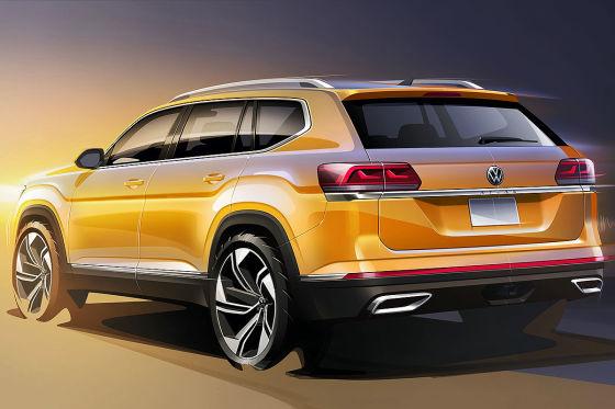 Neue Front für VWs größtes SUV