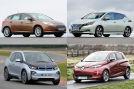Ford Focus Electric  Nissan Leaf  BMW i3  Renault Zoe  Collage