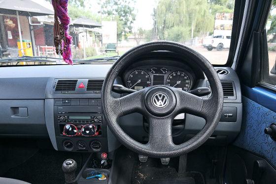 VW Citi Golf: Südafrika, Innenraum, Golf 3