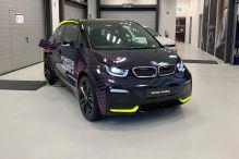 Der BMW i3s wird zum Tonstudio