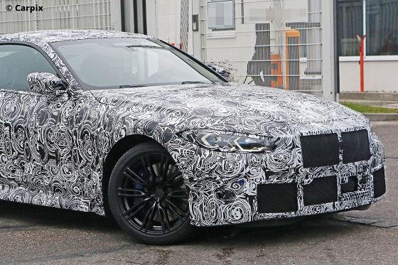 Erlkönig vom nächsten BMW M4 erwischt!