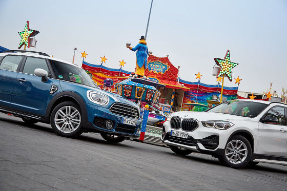 BMW X1 Mini Countryman