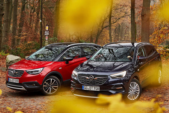 Opel Crossland X Opel Grandland X