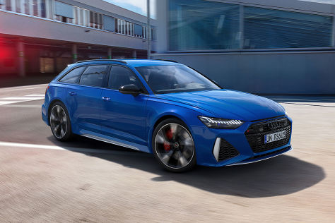25 Jahre RS-Jubiläumspakete: Audi RS 6, RS 7, RS 5, RS 4, TT RS
