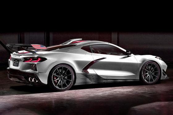 Hennesey plant 1200-PS-Corvette