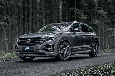VW Touareg V8 TDI: Abt Power-Plus