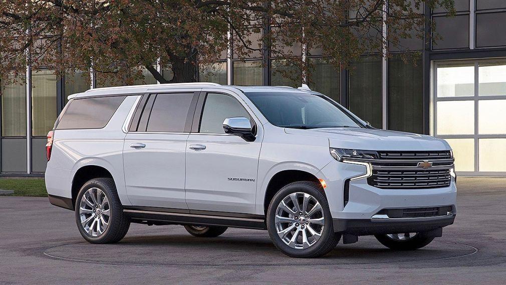 Suv Aus Den Usa Das Sind Der Neue Chevrolet Tahoe Und Suburban Autobild De