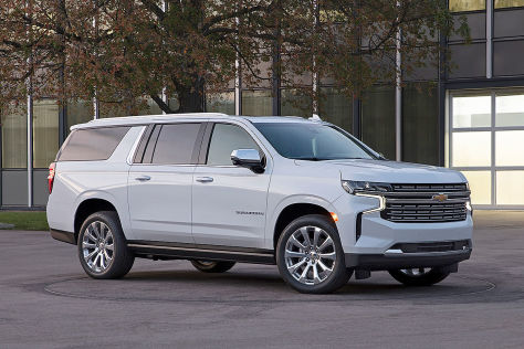 Chevrolet Suburban (2020):