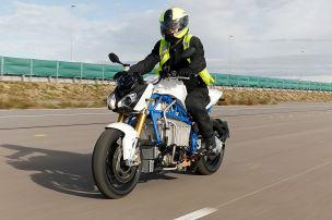 BMW-E-Bike mit Akku vom 5er