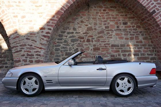 Einer von 25 SL 60 AMG Limited zu verkaufen