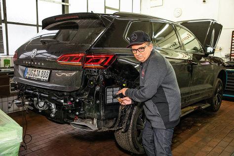 VW Touareg: Schaden durch Nagetiere