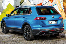Technisches Update im Tiguan Facelift