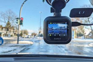 Aukey DRS1: Dashcam im Test