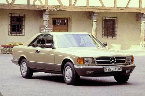 Mercedes 500 SEC aus Bang Boom Bang