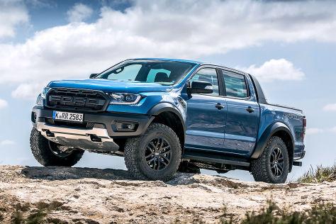 Ford Ranger Raptor: V8-Motor in Planung?